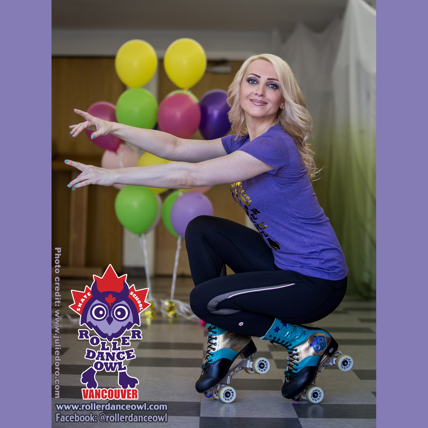 Roller Dance Owl Founder and Instructor